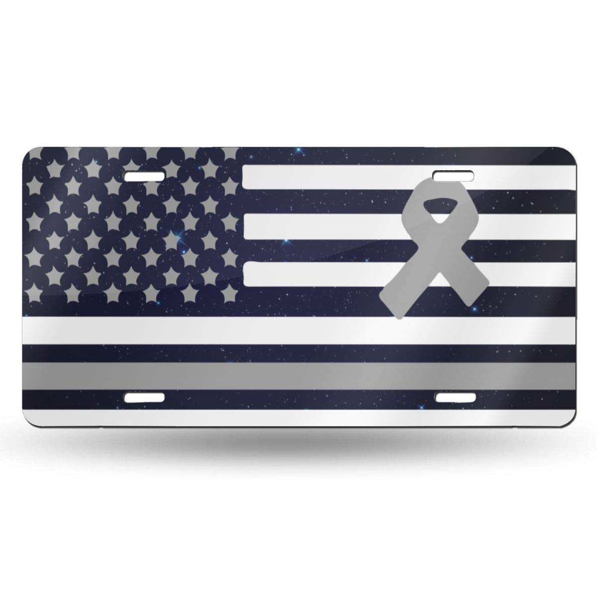 License Plate Covers Personalized Novelty Custom Decorative Metal Sign Front Car Tag for US Vehicles 12 x 6 Inch
