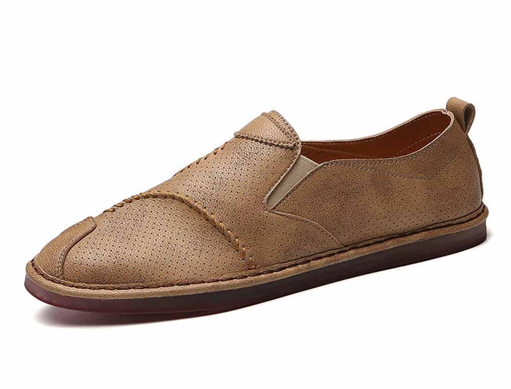GLSHI Scarpe Scarpe Scarpe da uomo traspiranti piatte Scarpe estive da passeggio leggere nuove casual da uomo (colore   Marrone, Dimensione   44) 74bd17