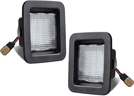 Amazon.com: RUXIFEY - Luz LED para matrícula compatible con ...