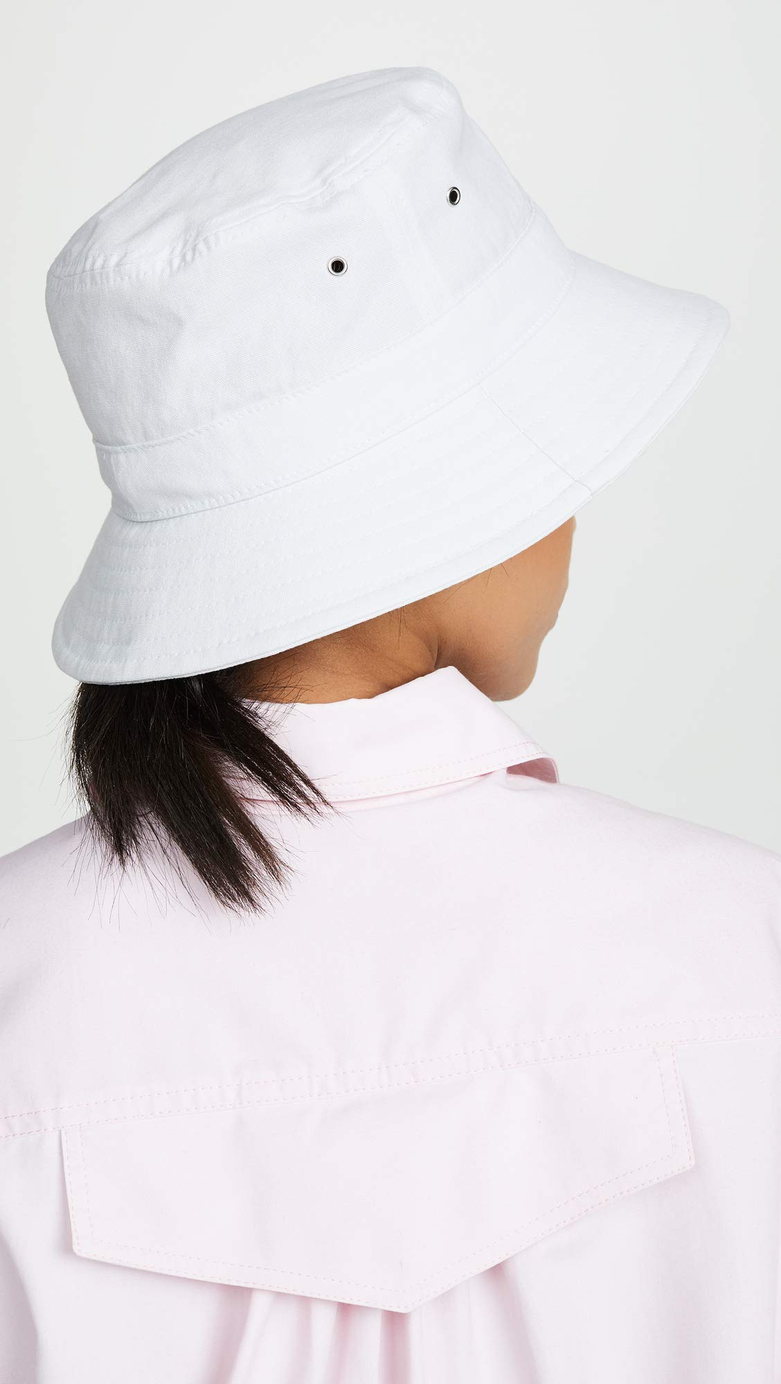 Hat Attack Women's Perfect Bucket Hat, White, One Size by Hat Attack (Image #3)