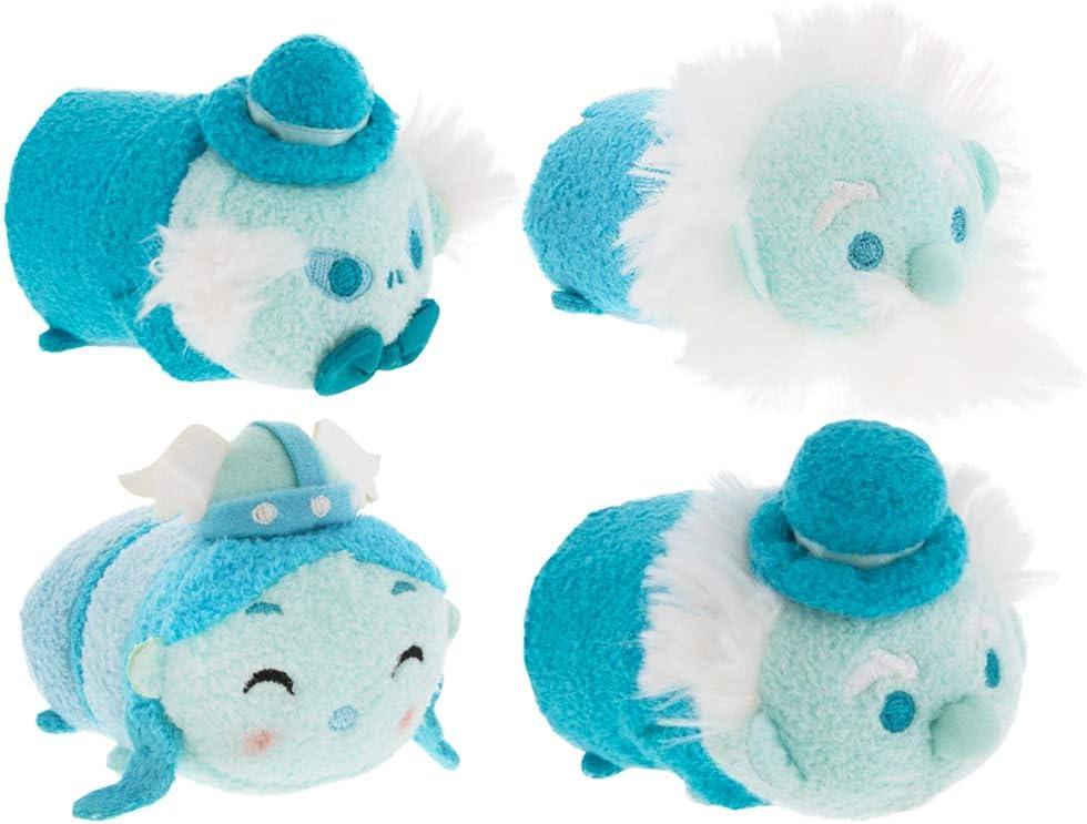 Disney Villains Party Favors Pack -- Set of 4 Haunted Mansion Tsum Tsum Plush Toys (Party Supplies)