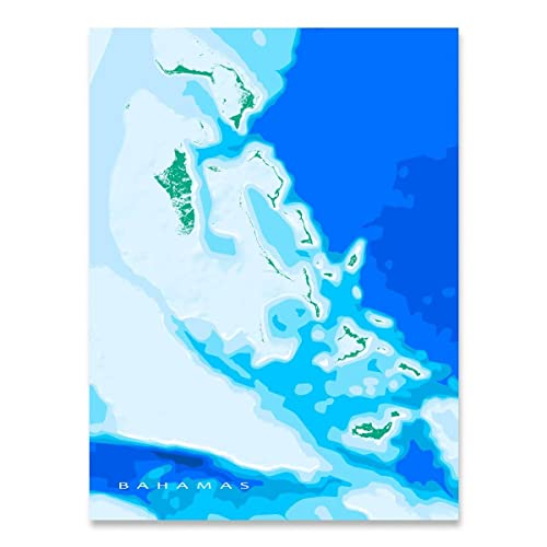 image about Printable Map of Caribbean Islands referred to as : The Bahamas Map Print, Caribbean Islands