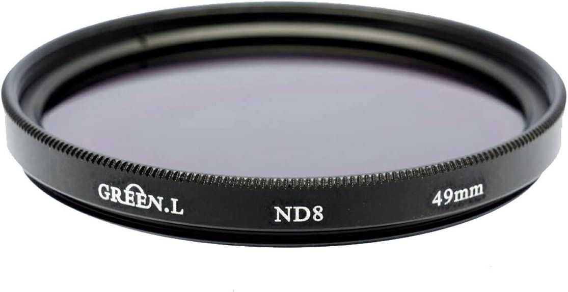 Green L 49mm Neutral Density ND8 Filter for Canon EF-S 35mm F2.8 Macro IS STM