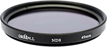 Gadget Place Neutral Density ND8 Filter for Canon EF-M 32mm F//1.4 STM