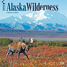 Alaska Wilderness 2016 Square 12x12 (Multilingual Edition) by Browntrout Publishers (2015-07-15)