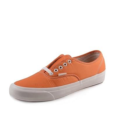 Vans Mens Authentic Pro LX Our Legacy Orange/White Neoprene Size 10.5