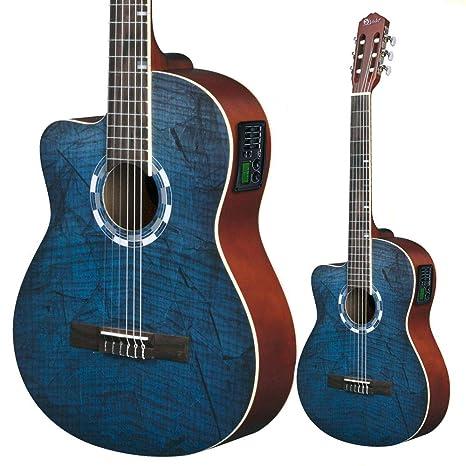 Lindo para zurdos 960 CEQ Picasso azul clásica - guitarra ...