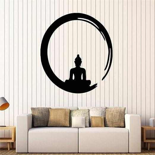 Jixiaosheng Personalidad Buda Pegatinas De Vinilo De Pared ...