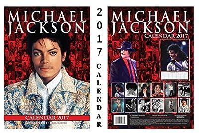 MIchael Jackson 2017 Calendar + Blank Fridge Magnet