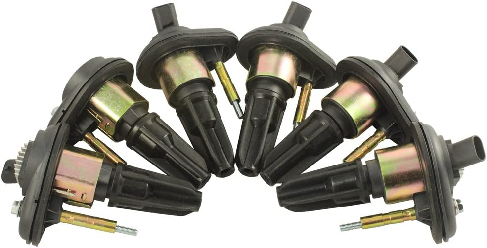 JDMSPEED New Ignition Coil Set Of 6 For Chevy Trailblazer GMC Canyon Envoy H3 2002-2005