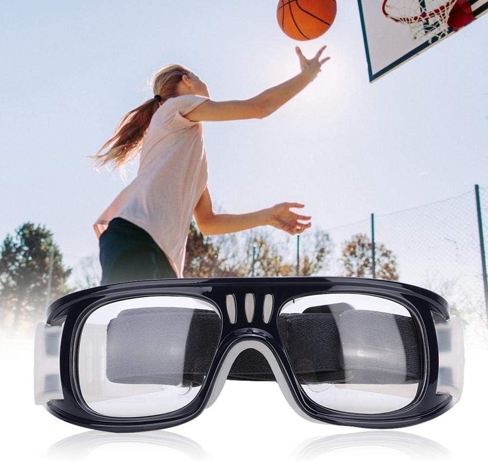Alomejor Gafas Deportivas Gafas Protectoras de Seguridad Gafas de Seguridad con Correa Ajustable para Baloncesto Deportes de f/útbol
