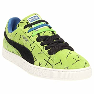 Puma Mens Classic 1993 The List Suede Skate Fashion Sneakers Green 9.5
