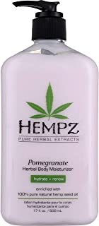 product image for Hempz Body Moisturizer Pomegranate 17 Ounce Pump (500ml) (Pack of 2)