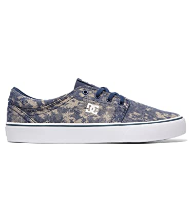 DC Shoes Trase TX Se Baskets Homme EU 46 Bleu: DC