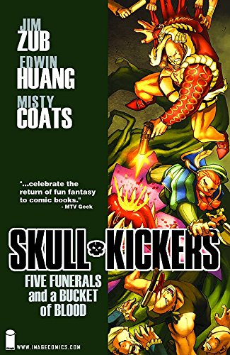 Download Skullkickers, Vol. 2: Five Funerals and a Bucket of Blood pdf epub