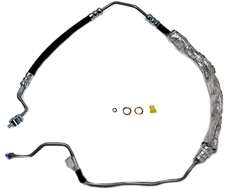 16 mm Male O-Ring End 14 mm Banjo End 0.63 ID Gates 366126 Power Steering Hose Assembly 60.25 Length