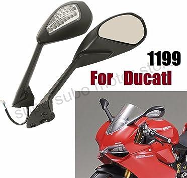 27-52 mm V4S V4 SHIN YO Set specchietti con frecce Ducati 1199 Panigale Pangiale 1299