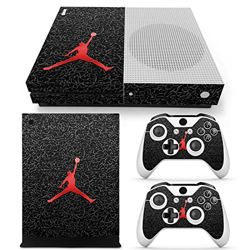 FriendlyTomato Xbox One S Console and Wireless Controller Skin Set - Basketball NBA - XboxOne S Vinyl