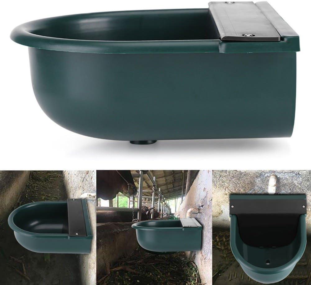 DishyKooker - Dispensador de agua automático de 4 litros con forma de bola flotante, alimentador de agua para ovejas, perro, caballo, vaca, perro, oveja, cabra, suministros para mascotas