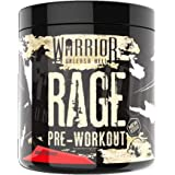 Warrior RAGE Pre Workout Powder, Savage Strawberry, 392g (45 Servings)