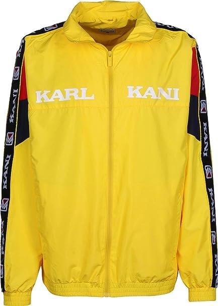 Karl Kani Retro Block Chaqueta de deporte yllw/red/nvy ...