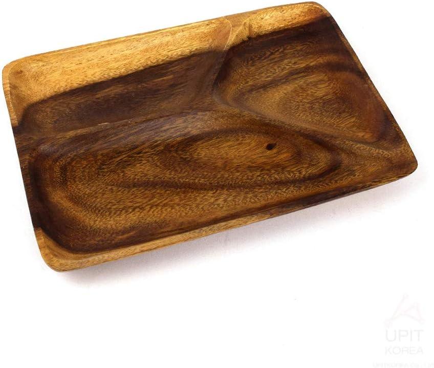 Set of 3 BirdRock Home Acacia Round Platters Acacia Wood Plates