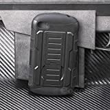 Blackberry Q10 Case, Cocomii® [HEAVY DUTY] Robot Case *NEW* [ULTRA FUTURE ARMOR] Premium Belt Clip Holster Kickstand Bumper [MILITARY DEFENDER] Full-body Rugged Dual Layer Cover (Black/Black) ★★★★★