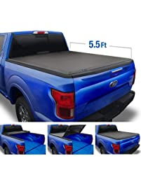 Tyger Auto T3 Tri-Fold Truck Bed Tonneau Cover TG-BC3F1019 works with 2009-2014 Ford F-150 | Styleside 5.5' Bed | For...