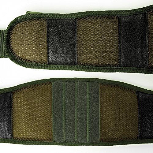 LUUFAN Ceinture Tactique Militaire de sécurité de Ceinture de Molle résistante réglable avec la Courroie Libre pour l… 6