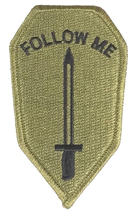 Amazon Us Army Infantry School Insignia Follow Me Patch Od