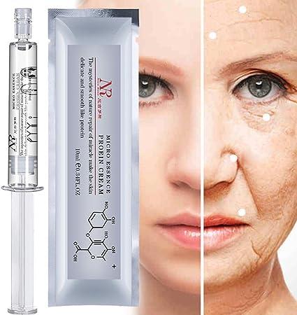 Cuidado de la piel, Diadia 10ml Proteína de Seda Ácido Hialurónico Líquido Cuidado de la Piel Hidratante Anti Arrugas Anti Envejecimiento Esencia ...