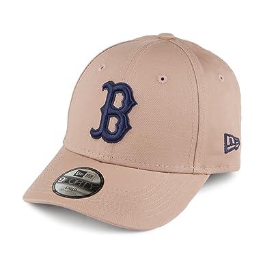 Casquette Enfant 9FORTY MLB League Essential Boston Red Sox camel NEW ERA -  Taille Enfant Ajustable 1501034ec633