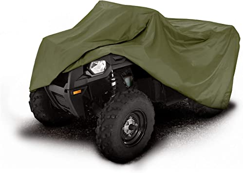"Eliteshield Heavy Duty Trailerable Storage Deluxe ATV Quad Cover Fits up 82/"" L"