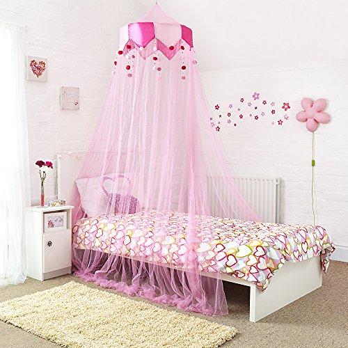 Prinzessinnen Bettuberdachung Wunderschoner Kinderbettvorhang Mit