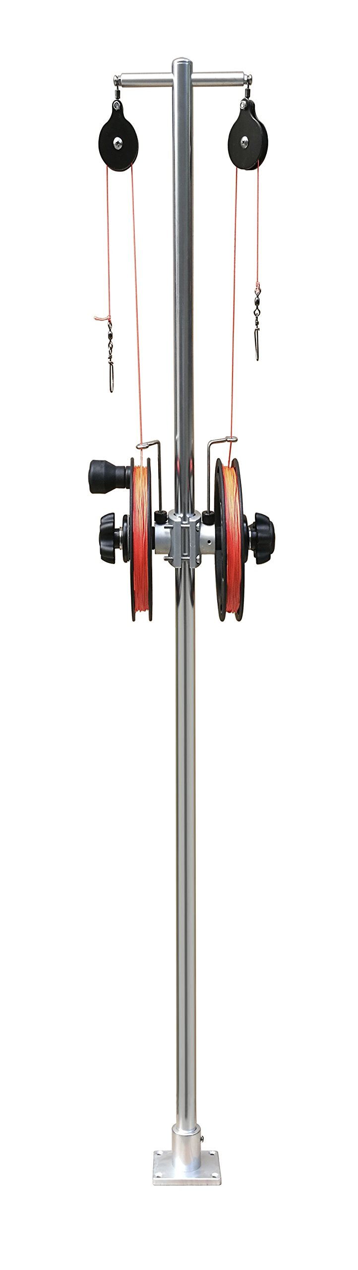 Brocraft Dual Reel Planer Board Mast System by Brocraft