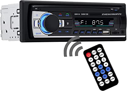 AUSELECT Car Bluetooth in-Dash Radio Stereo Audio 4X60W Head Unit Player MP3/USB/SD/AUX-IN/FM