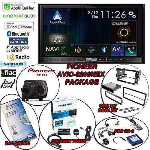 Pioneer AVIC-8200NEX Navigation, Pioneer ND-BC8, SiriusXM Tuner, PAC SWI-RC, PAC OS-5, GMK317 for 2003-17 GM/Chevy Trucks Review