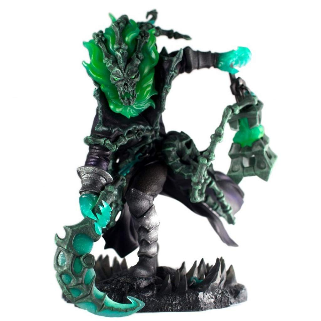 WJP LOL League of Legends - 25CM Soul Lock Warden Anime Toys Game Enthusiast / Model / Gift / Crafts Decoration / Collection