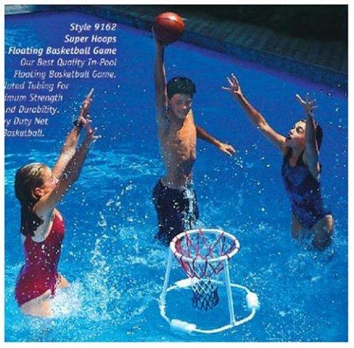 Swimline Super Hoops Floating Basketball Game