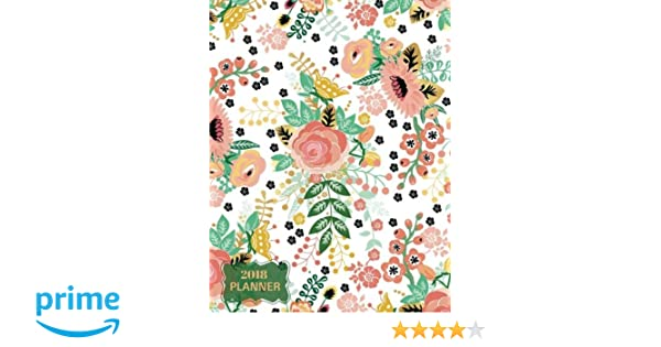 2018 Planner: Ultimate Daily Weekly, Monthly Schedule Diary ...