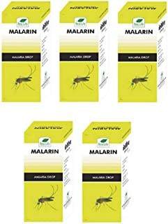 product image for New Life Malarin Drops, 30ml (Pack of 5) for Malaria with Shivering & Chill, Headache, Body ache - with Express Shipping