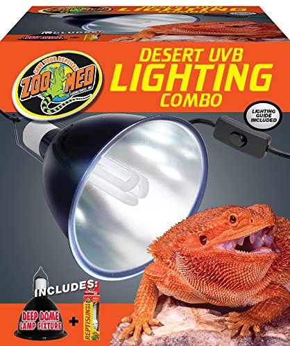 Zoo Med Combo Pack Desert UVB Lighting by Zoo Med