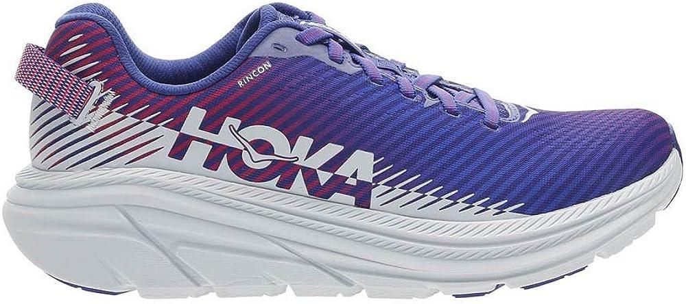 HOKA Scarpe da Corsa Donna Rincon 2 Fraction/_39/_And/_1/_Third col: Clematis Blue//Artic Ice