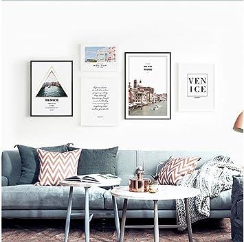 LYTSM® Foto Wand, Nordeuropa Dekoration persönlichkeit Fotorahmen ...