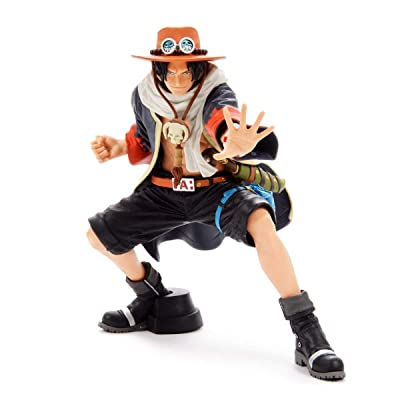 Banpresto One Piece King of Artist The Portgas D. Ace III Ace Action Figure: Toys & Games