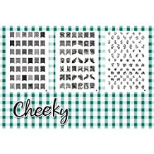 Cheeky Z3 Nail Art Jumbo Image Plates Stamps - by CHEEKY