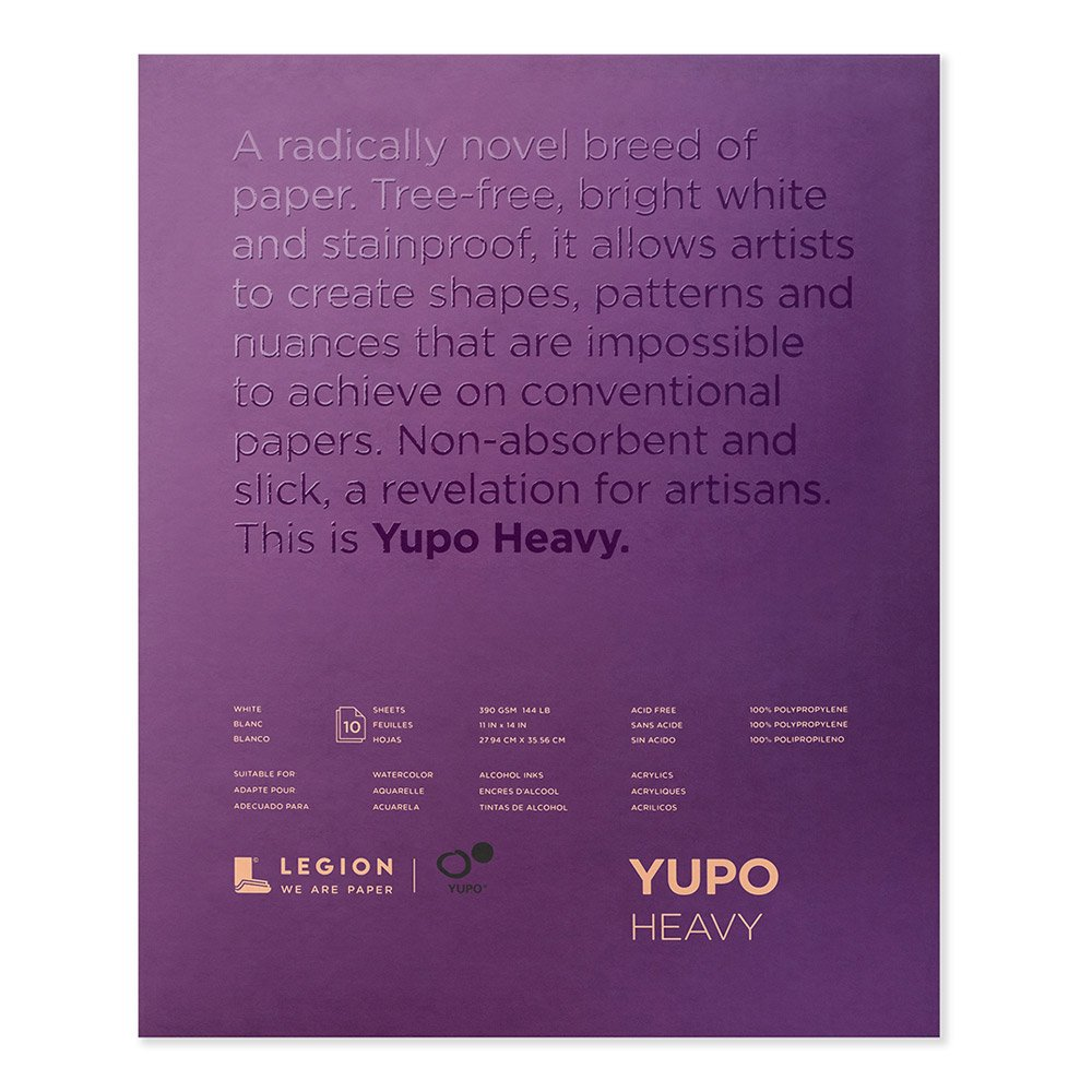 Yupo Paper L21-YUP389WH1114 Painting and Drawing, Multi