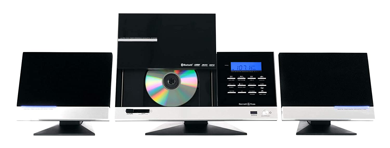 Bennett & Ross Tønsberg equipo de música vertikal conCD/MP3-Player, USB/SD-Slots y Bluetooth