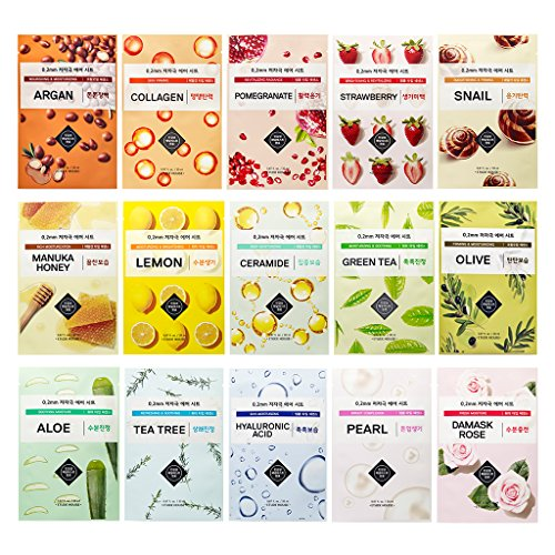 Price comparison product image ETUDE HOUSE 0.2mm Air Mask 20ml Combo Pack (15 Pack)