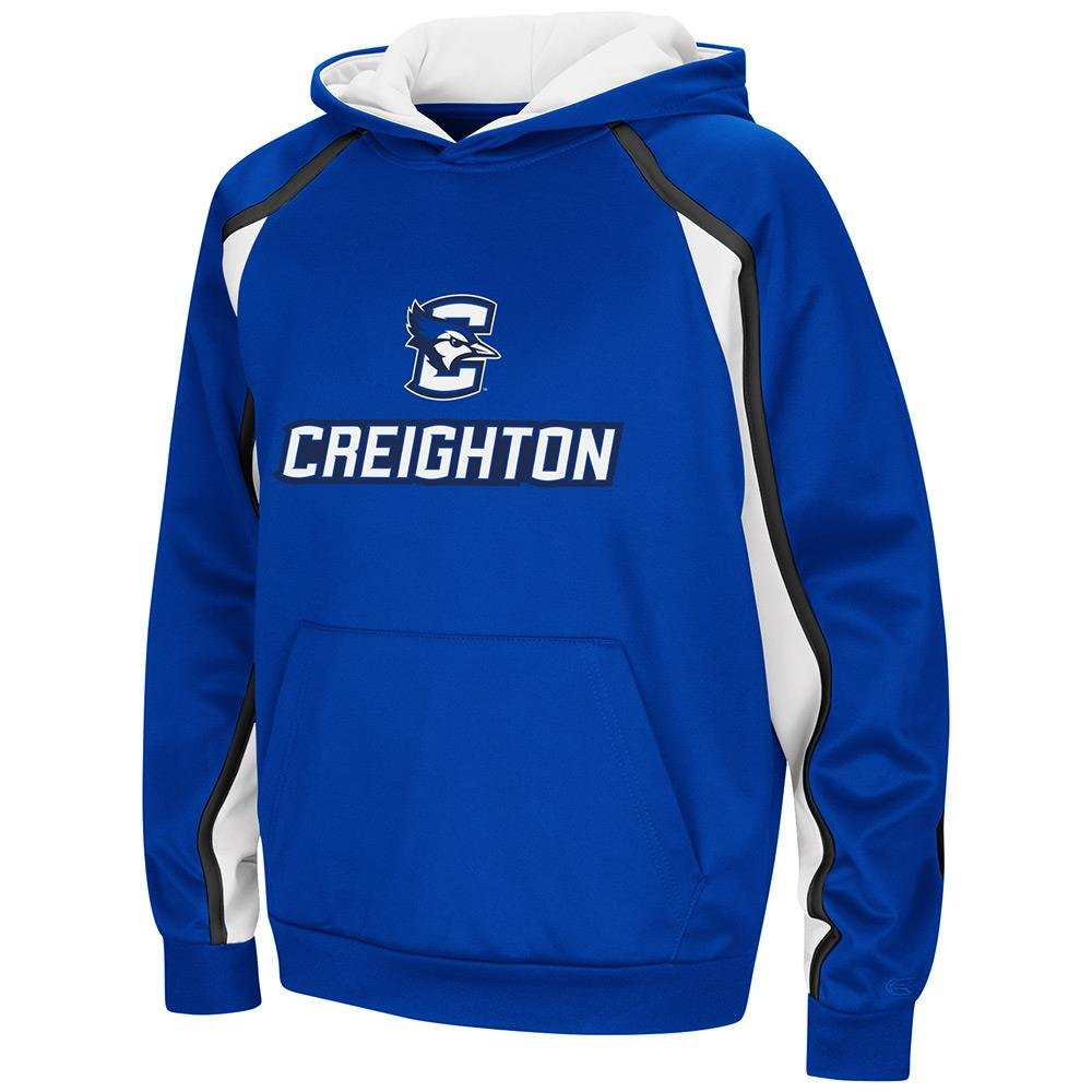 Colosseum Youth Creighton Bluejays用プルオーバーパーカー B07DWMSNHG  X-Large (20)